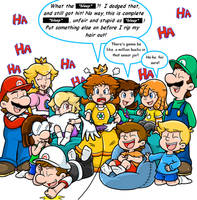 Commish: Gamer mouth by Nintendrawer