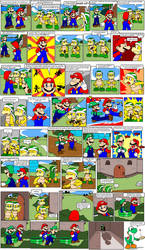 Super Mario Bros. page 49 by Nintendrawer