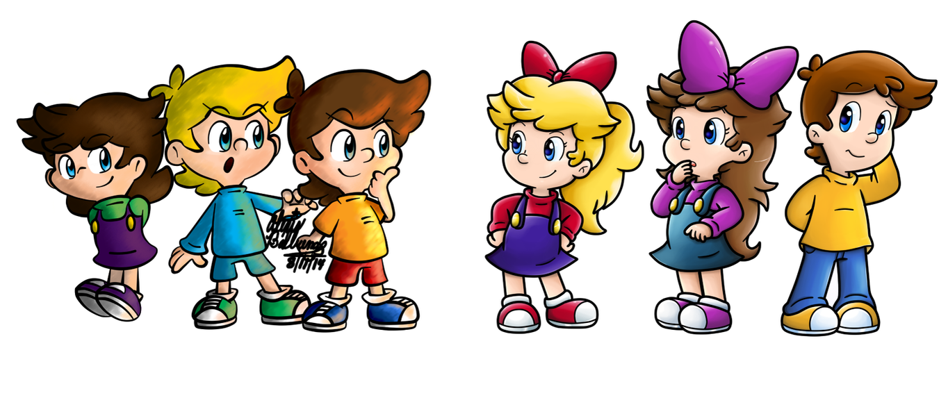 Commish: Gender Swap By Nintendrawer On DeviantArt