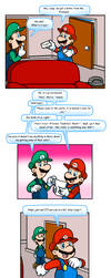 Mario 64 thing: Invitation by Nintendrawer