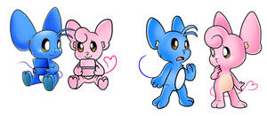 Collab: Pink and Blue