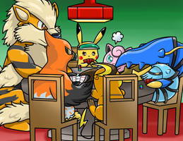 Pokermon by Nintendrawer