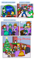 Merry Christmas 2015 by Nintendrawer