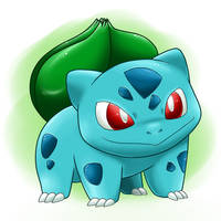 It's a Bulbasaur! by Nintendrawer