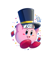 Collab Entry: Magic Kirby by Nintendrawer