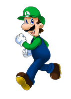 Luigi Time! by Nintendrawer