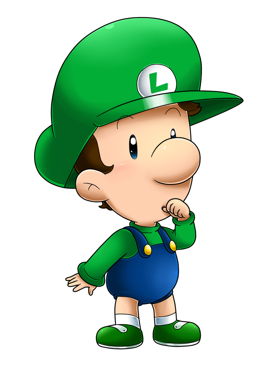 its baby luigi time by nintendrawer