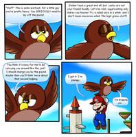 Mario 64 Thing: Hoot by Nintendrawer