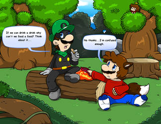 Comm: Dimble Woods Hang Out by Nintendrawer
