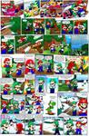 Super Mario Bros page 55