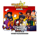Commish: Support Heart of Wild Fire by Nintendrawer