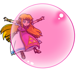 Commish: Bubble Blowing Princess