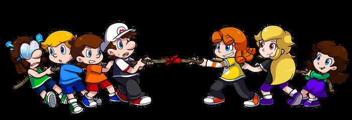 Commish: Boys vs Girls!