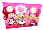 Commish: Toad-al Cuties