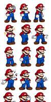 Ask Mario Expression Sheet