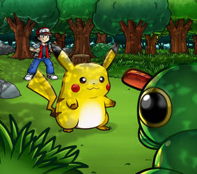 Pokemon: Viridian Forest