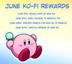 June Reward List