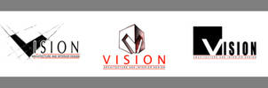 :: vision ::logo:: by mh2aa