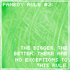 Fanboy Rule Number 2 by SoulOfSixes