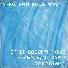 Yaoi Fan Rule Number 96 by SoulOfSixes