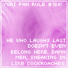 Yuri Fan Rule Number 158 by SoulOfSixes