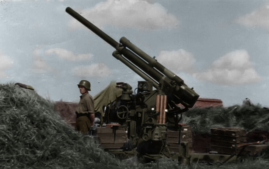 29/33 M. 80mm Bofors AA gun by Greenh0rn