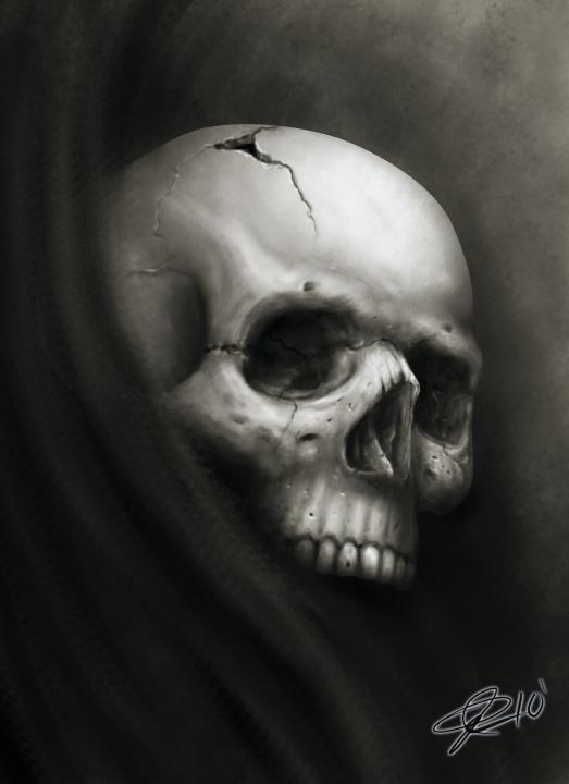 Skull Speed Paint