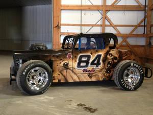 Spider Zombie car Wrap