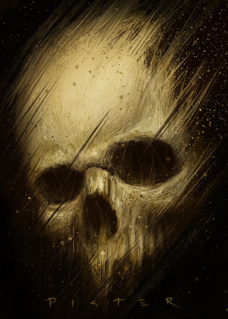 Skull Sketch by RodgerPister