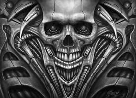 Bio Skull by RodgerPister