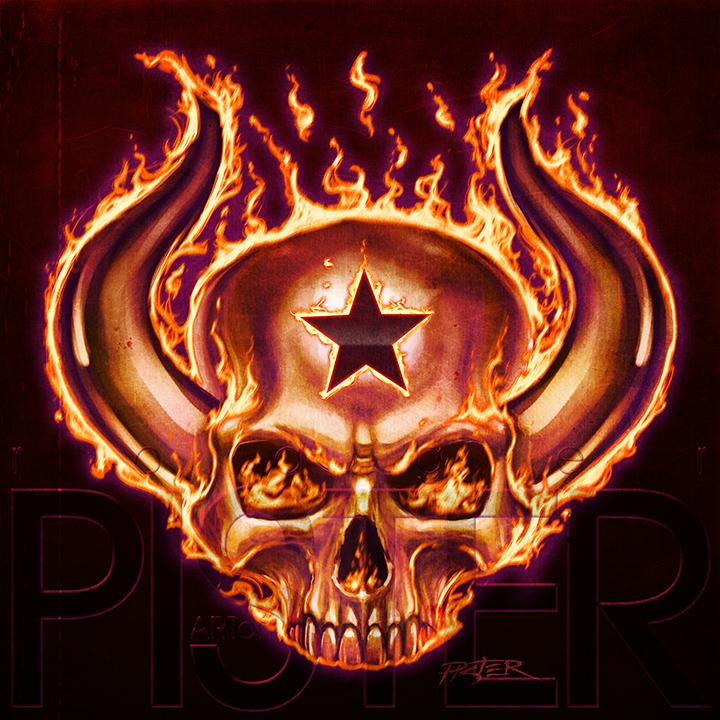 Fire skull by rodgerpister on deviantart fire skull by rodgerpister voltagebd Choice Image