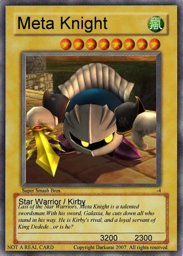 Monster: Meta Knight SSBB by LuigiIII