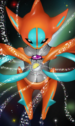 Deoxys by Sohilicious