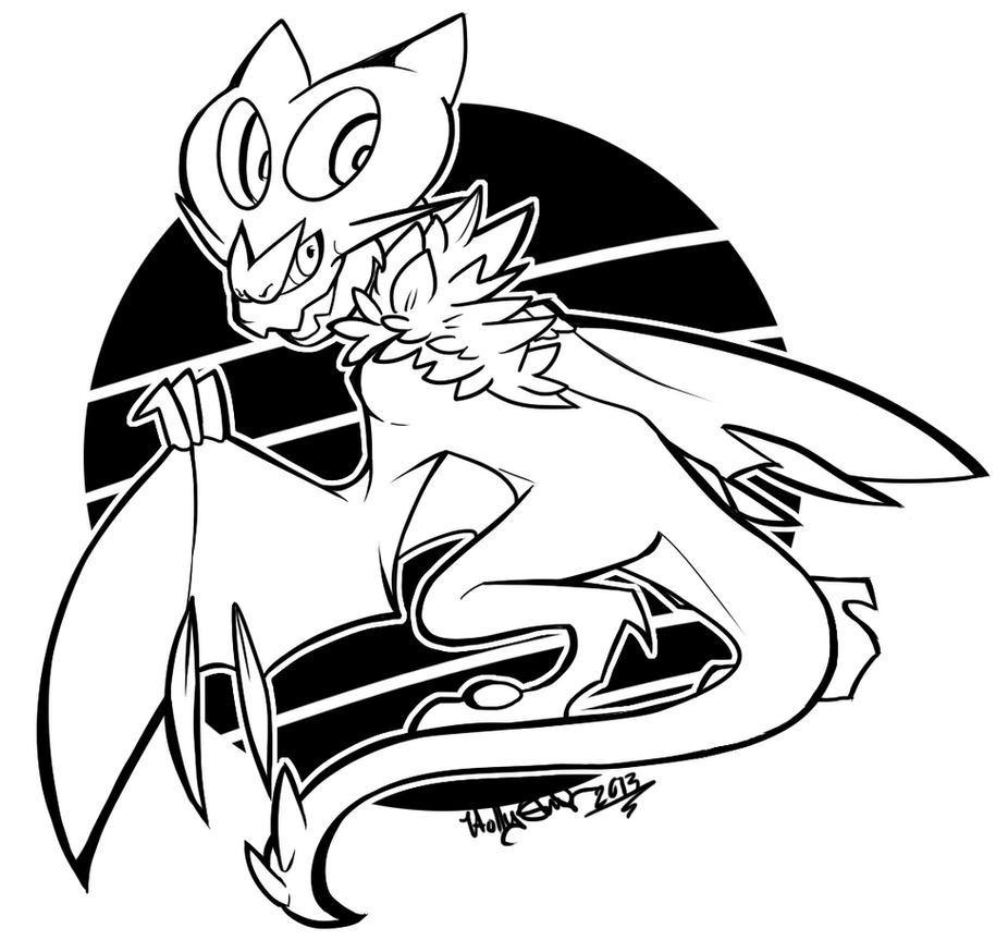 noivern coloring pages - photo#14
