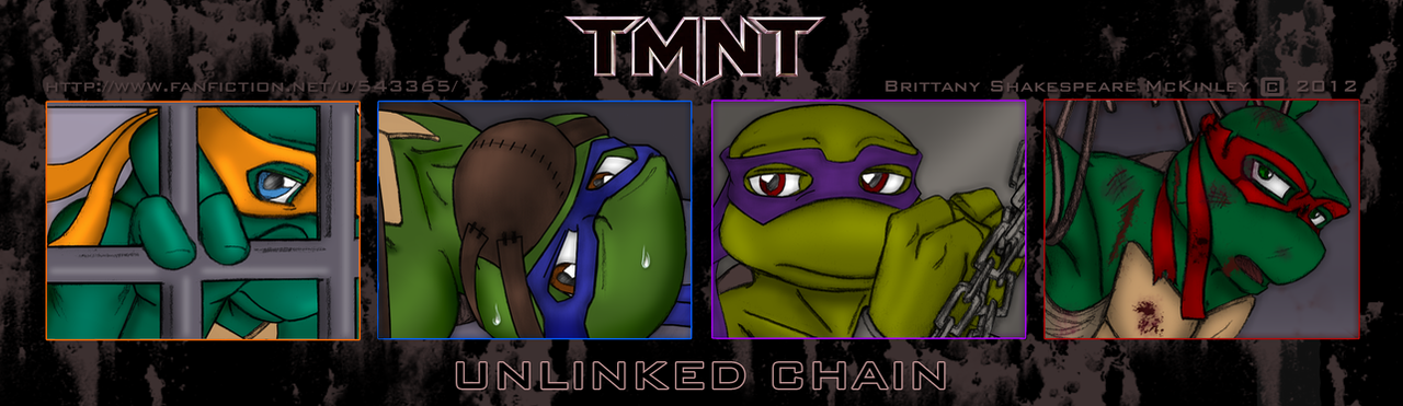 TMNT Banner - Unlinked Chain by RoseDuelistBBSHM