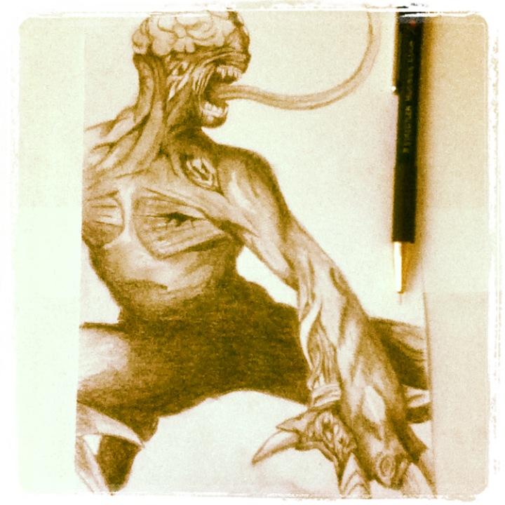 Licker Sketch by lerod2