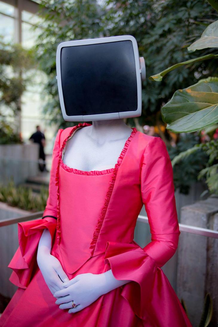 Princess Robot Portrait by OrangeMoose