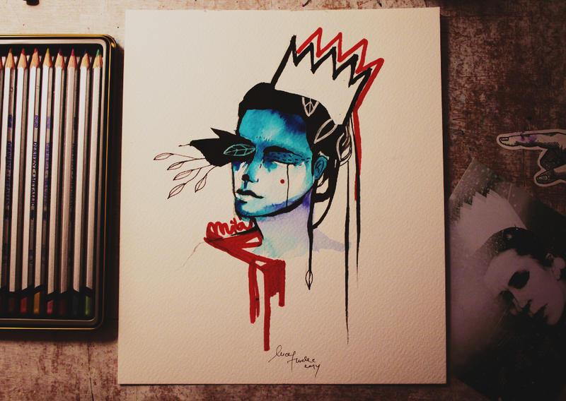 blue my head by LucyHudecova
