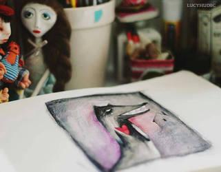 friend wolf by LucyBumpkinova