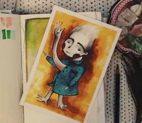 Saying hello by LucyBumpkinova