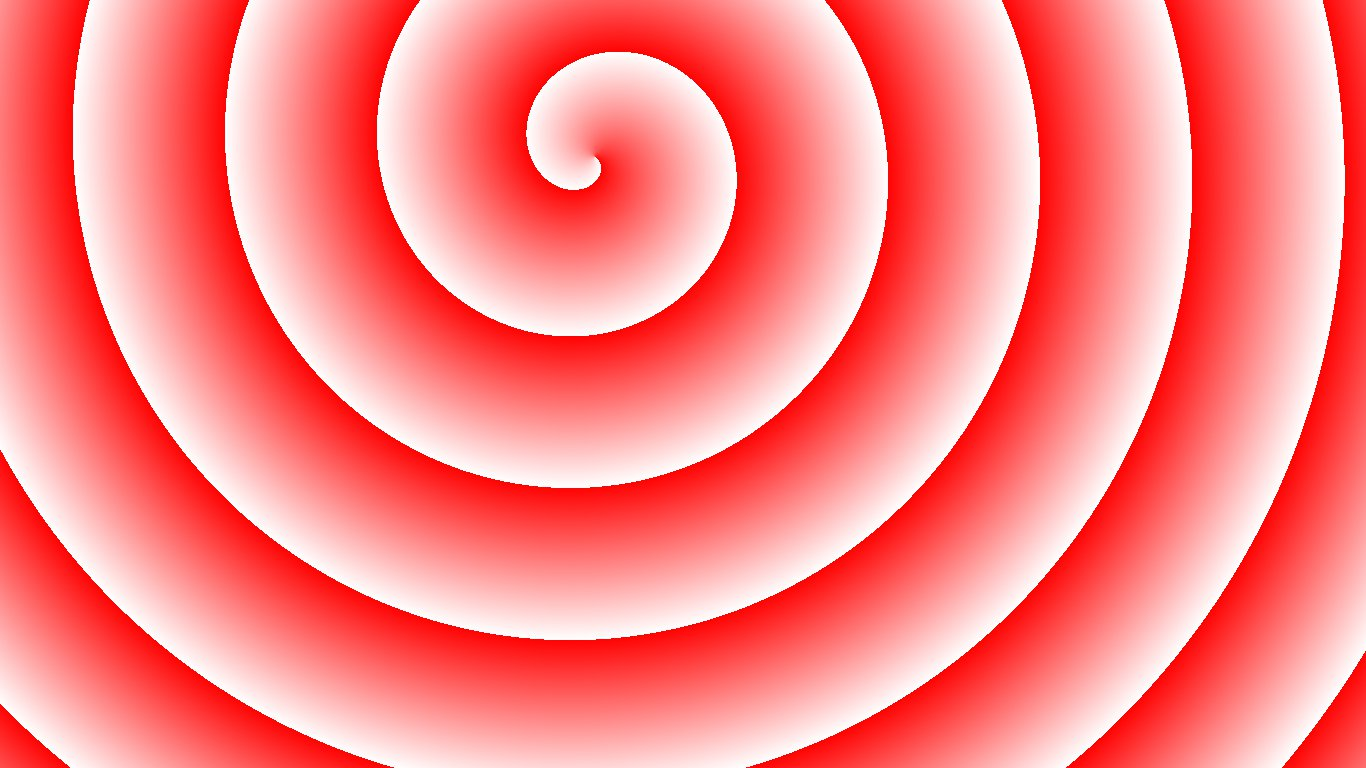 Red and White Spiral Wallpaper by Umm-Barakah86