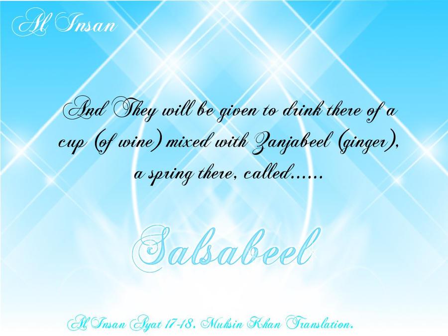 Salsabeel by Umm-Barakah86