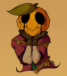 Pumpkin Head by Satyruss