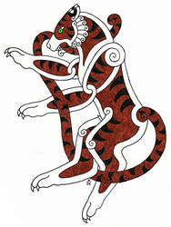 Celtic Tiger by Leathurkatt-TFTiggy