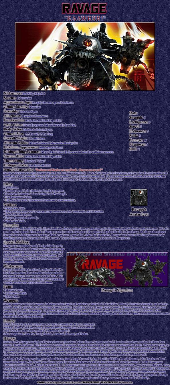 Ravage RP Bio by Leathurkatt-TFTiggy