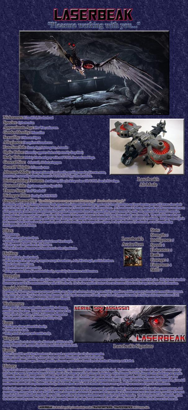 Laserbeak RP Bio by Leathurkatt-TFTiggy
