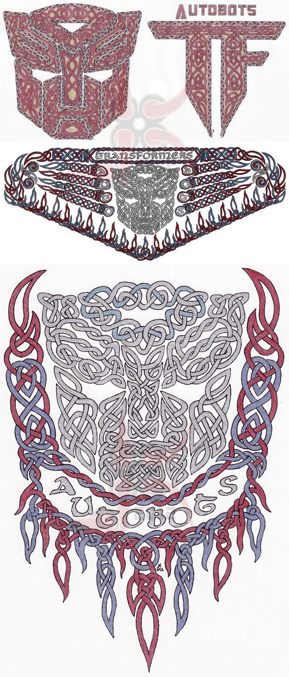 Autobot Knot Work Collection by Leathurkatt-TFTiggy