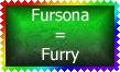 Fursona is Furry Stamp by Leathurkatt-TFTiggy