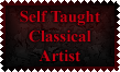 Self Taught Classical Artist Stamp by Leathurkatt-TFTiggy
