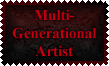 Multi-Generational Artist Stamp by Leathurkatt-TFTiggy